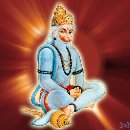 Hanuman meditation.image