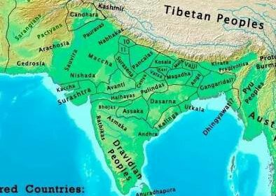India Map during Alexander's Invasion.image