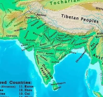 Indian Kingdoms Vedic,pre Vedic.image