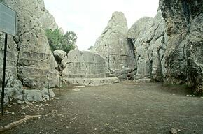 Rock Temple, Yazilikaya, Temple. Image