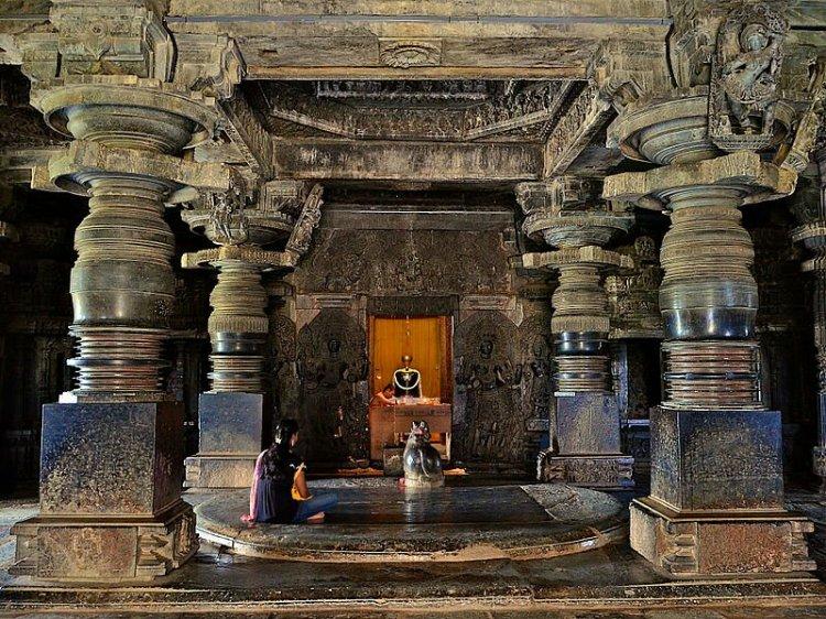 Hoysaleswara Temple Sanctum