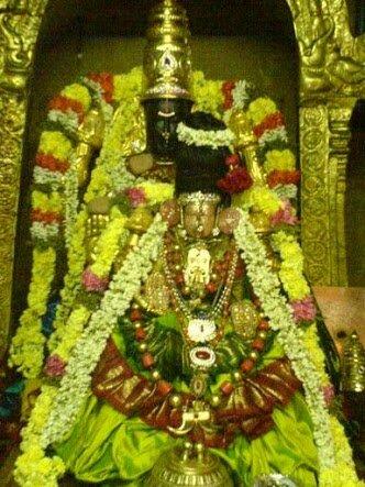 Thaayar,Varadaraja perumal,Kanchipuram.Moolavar and Utsavar.image