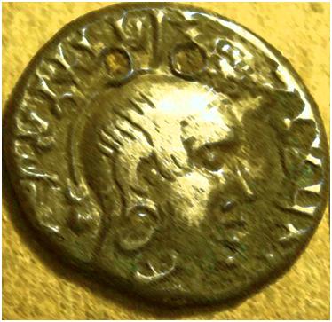 Gautamiputra Satakarni coin.image.
