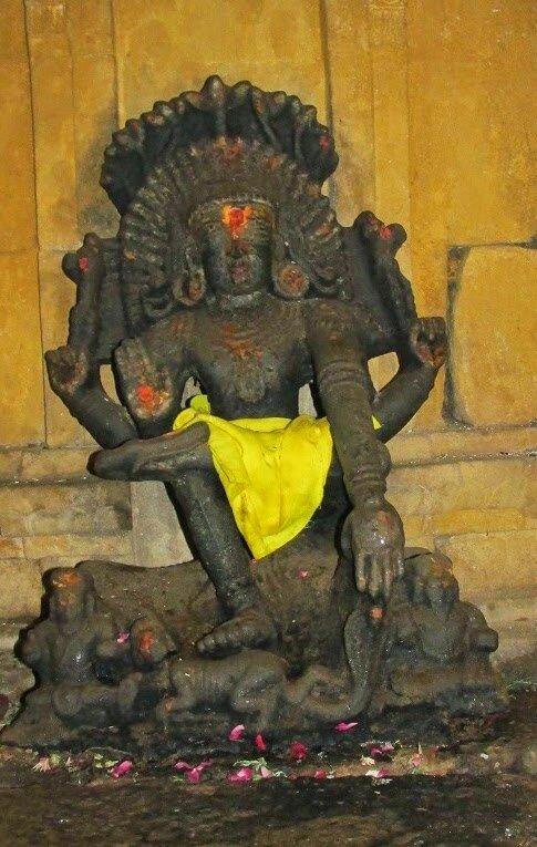 Dakshinamoorthy, Moonreswar temple,Athanallur.