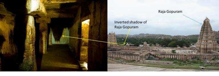 Virupaksha Temple gopuram. Image