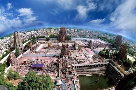 Meenakshi Temple, Madurai.image