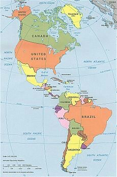 US Central And South America Map.image
