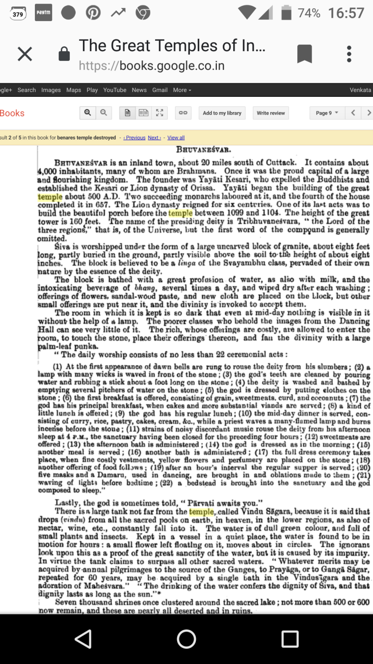 Great Temples of India Burma and Ceylon .book page.Screenshot