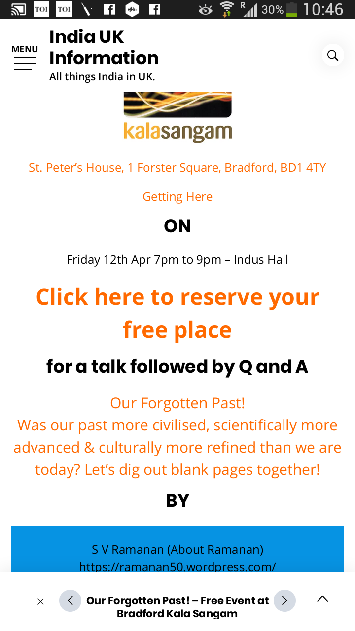 Our Forgotten Past My Lecture BradfordUK