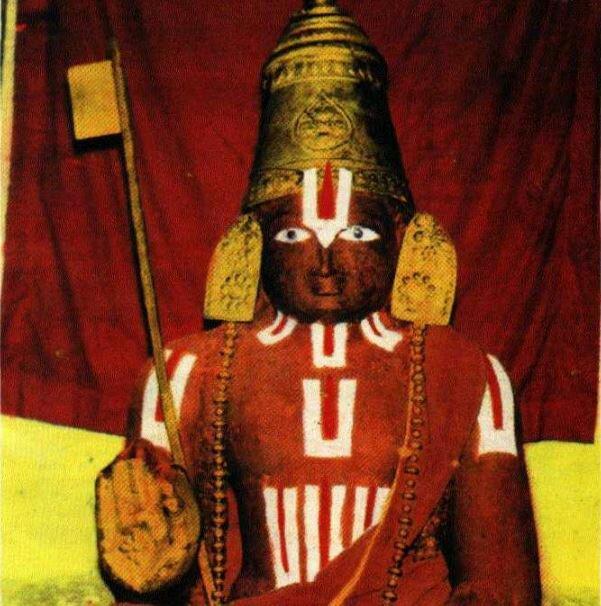 Ramanujar body kept as Deity Srirangam