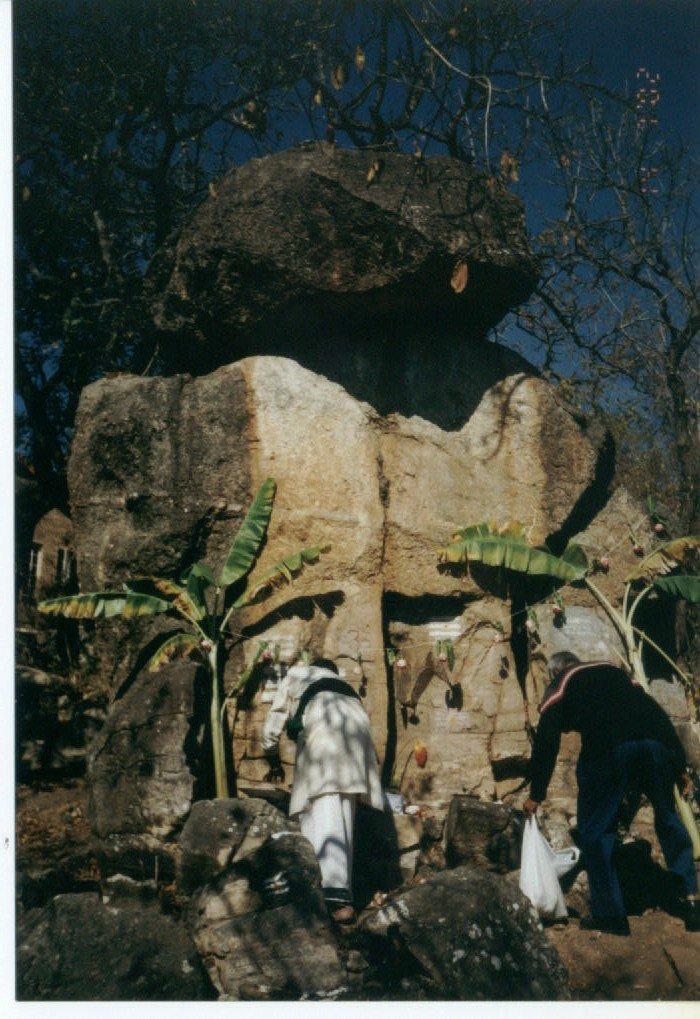 Siva Linga ,Ganesa worshipped in Africa.image.