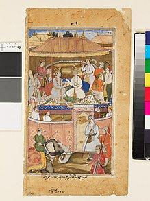 Vishnu teaches Mandhata