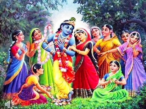 Dance of Krishna. image