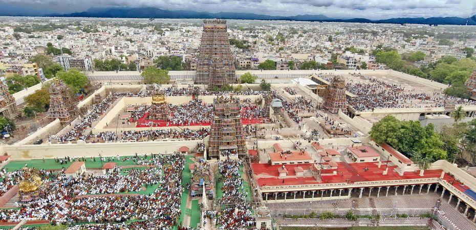 Madurai Meenakshi Amman Temple,South Tower.iame