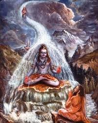 Ganga Coming down to earth.image
