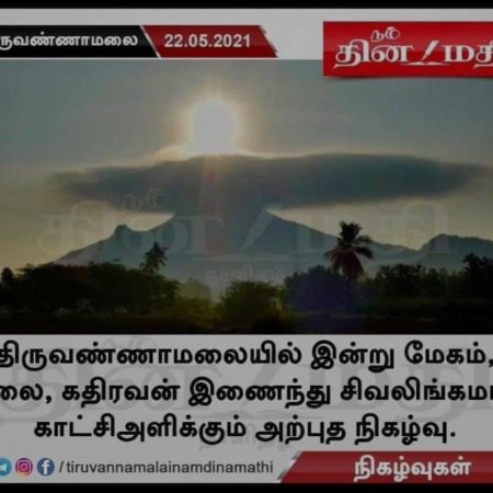 Siva Linga formation in Cloud .image