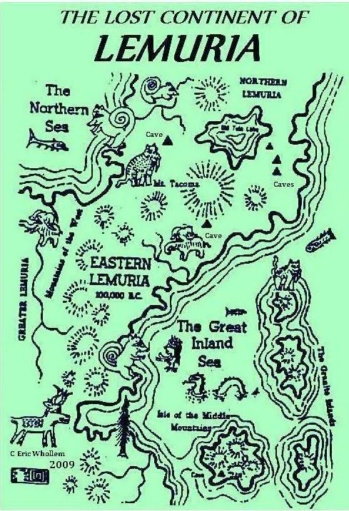 Lost Continent of Lemuria. Image