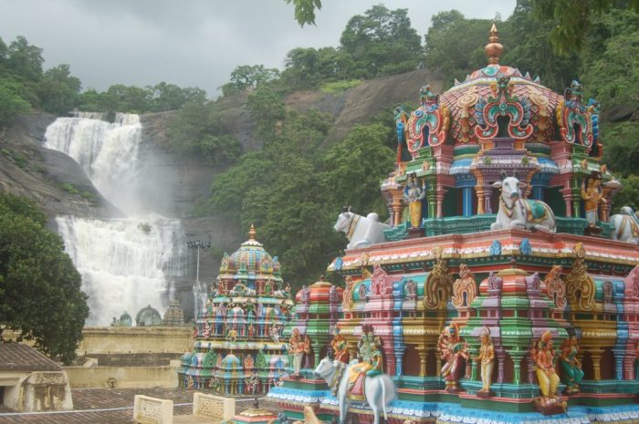 Kutralanathar Temple.Tamil Nadu